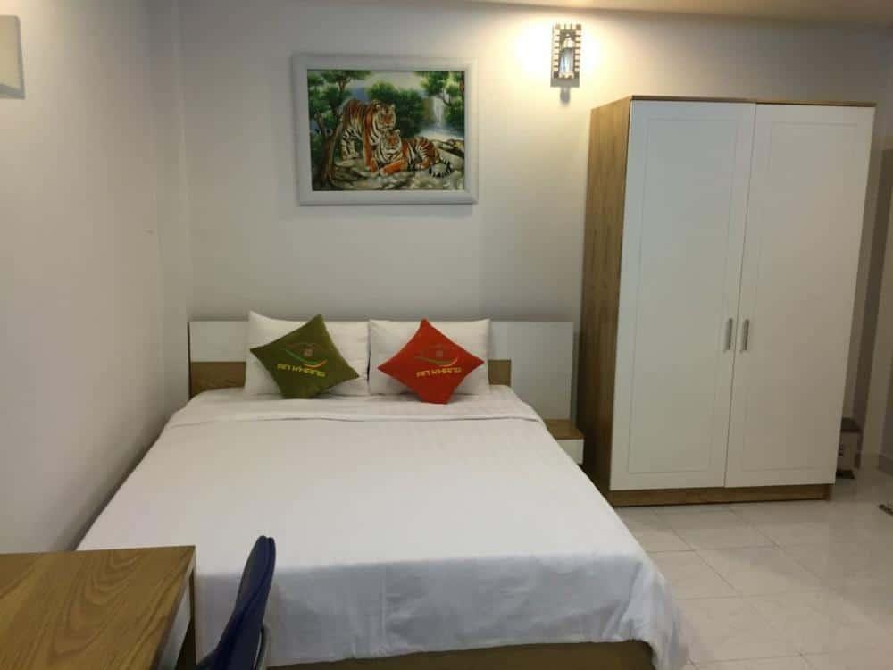 Phòng ngủ căn hộ mini cho thuê
