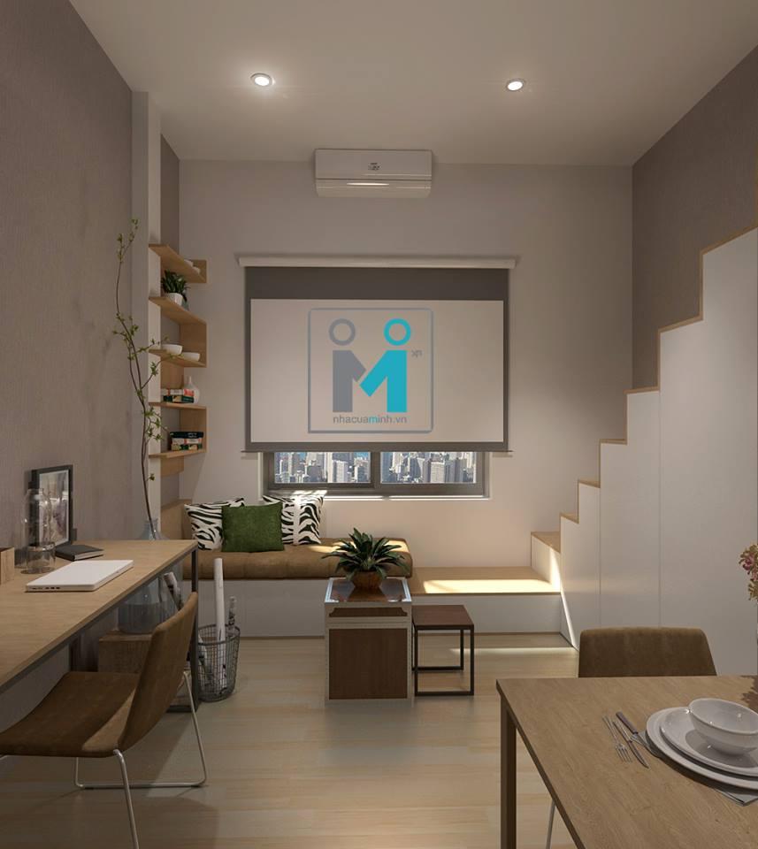 Có nên làm gác lửng khi đầu tư căn hộ mini cho thuê