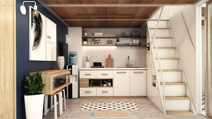 Phòng bếp - Căn hộ mini quận Bình Thạnh