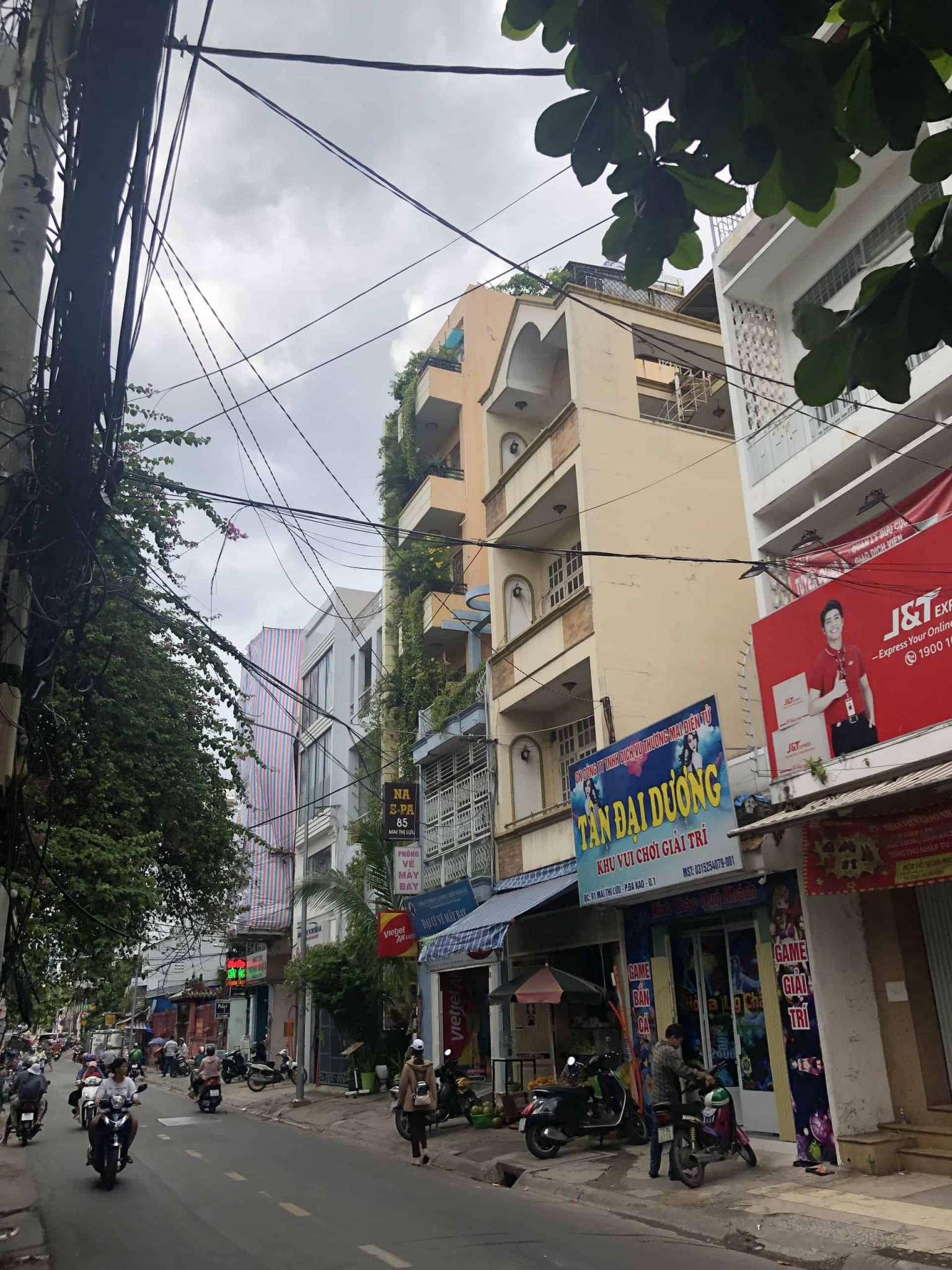 Đo vẽ hiện trạng, cải tạo căn hộ cho thuê Airbnb đường Mai Thị Lựu trước khi cải tạo 4