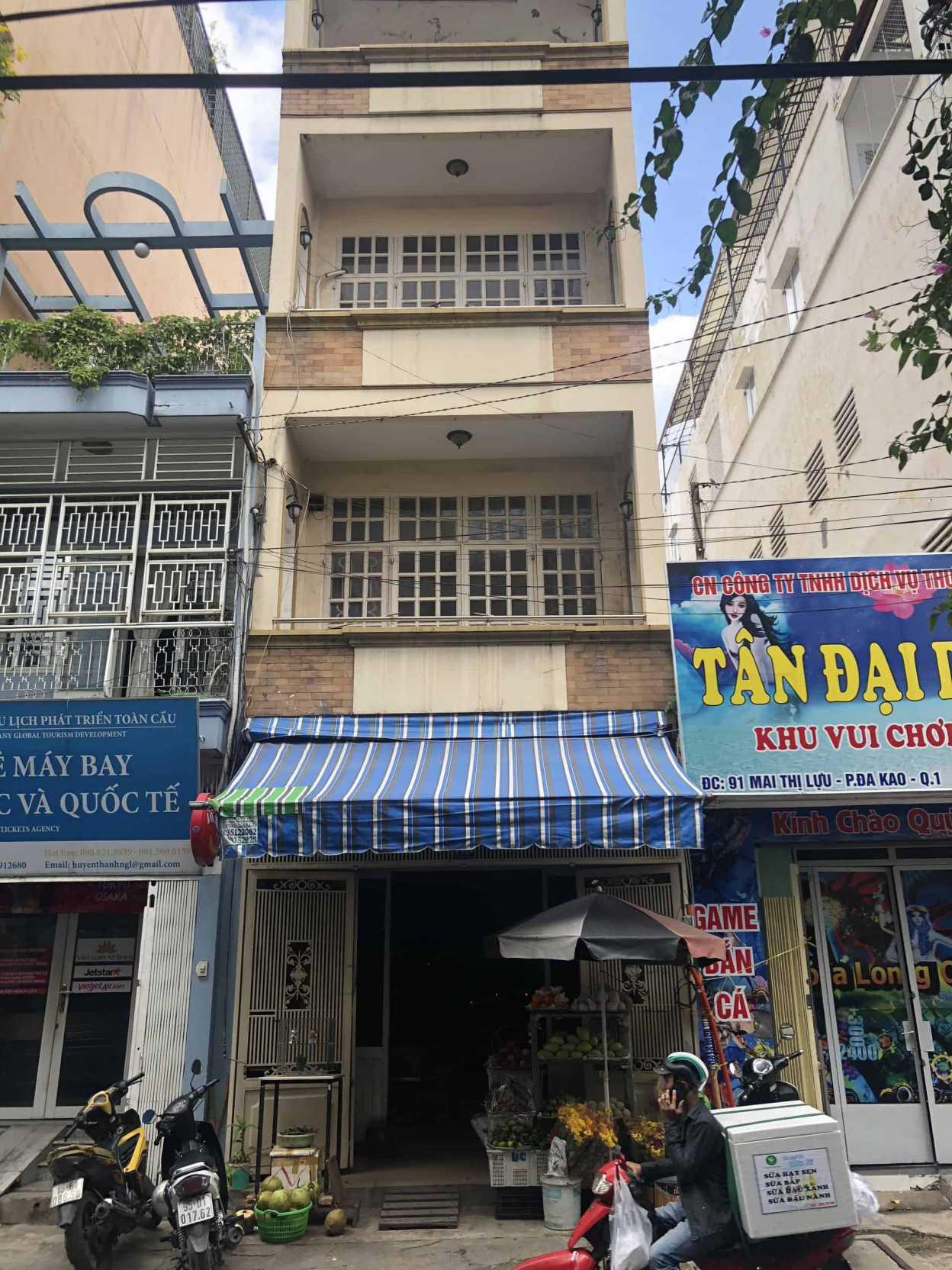 Đo vẽ hiện trạng, cải tạo căn hộ cho thuê Airbnb đường Mai Thị Lựu trước khi cải tạo 6