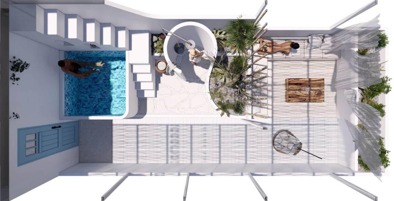 Đo vẽ hiện trạng, cải tạo căn hộ cho thuê Airbnb đường Mai Thị Lựu sau khi nâng cấp 6