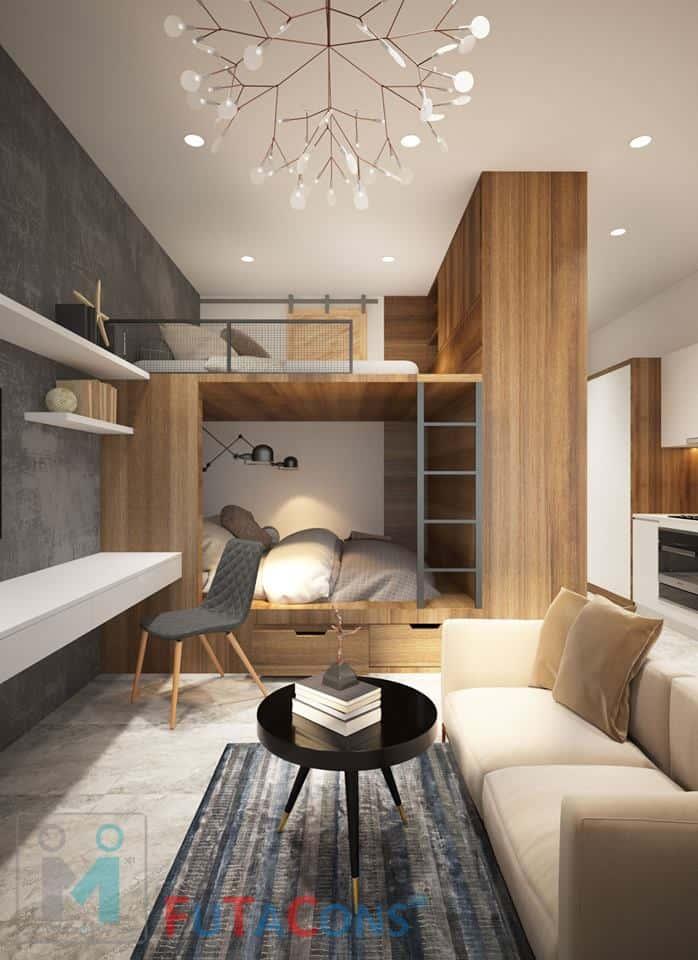 Thiết kế căn hộ cho thuê quận 7