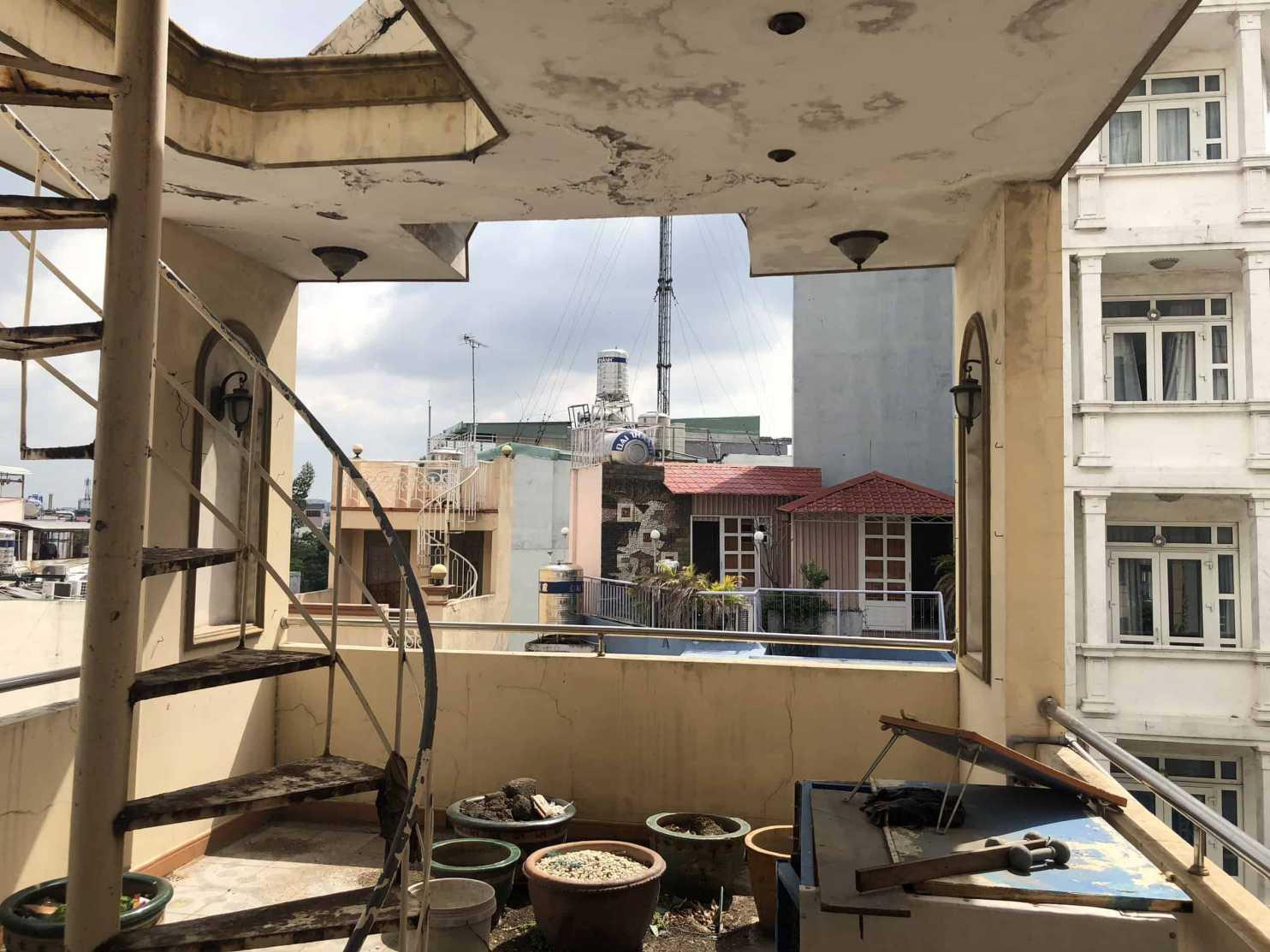 Đo vẽ hiện trạng, cải tạo căn hộ cho thuê Airbnb đường Mai Thị Lựu trước khi cải tạo 7