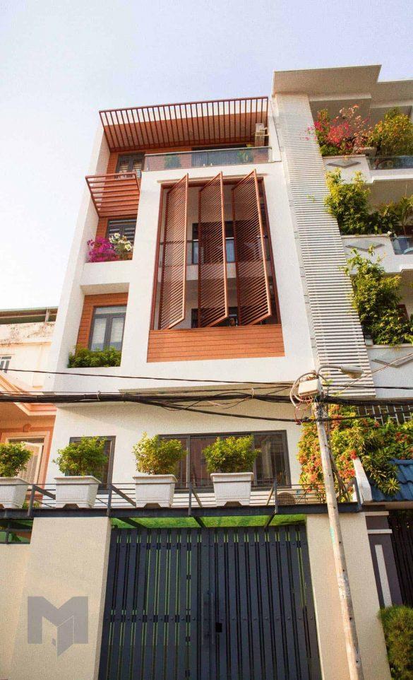 Mặt tiền nhà cho thuê căn hộ Trần Xuân Soạn