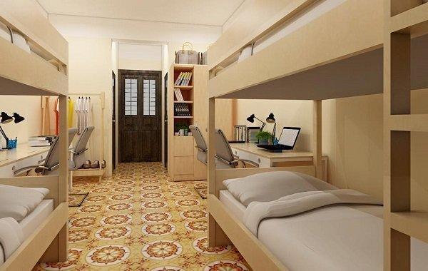 Thiết kế nhà trọ cao cấp cho thuê có giường tầng