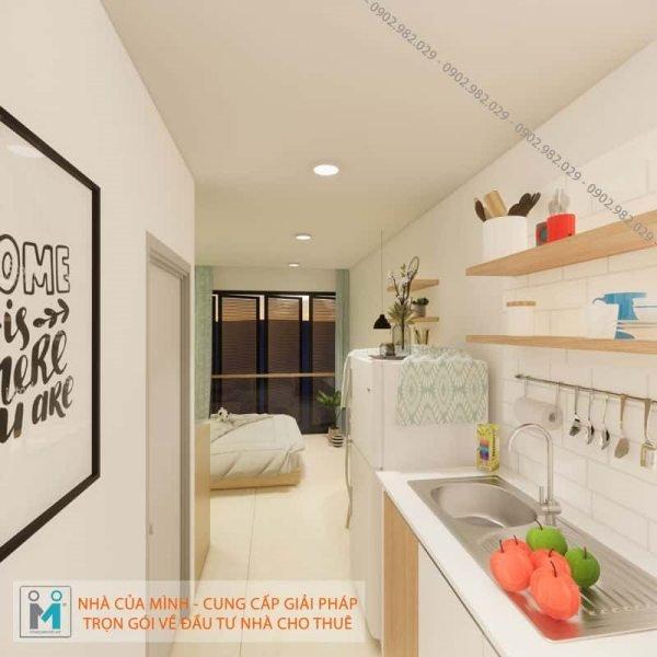đầu tư xây dựng mô hình căn hộ mini cho thuê