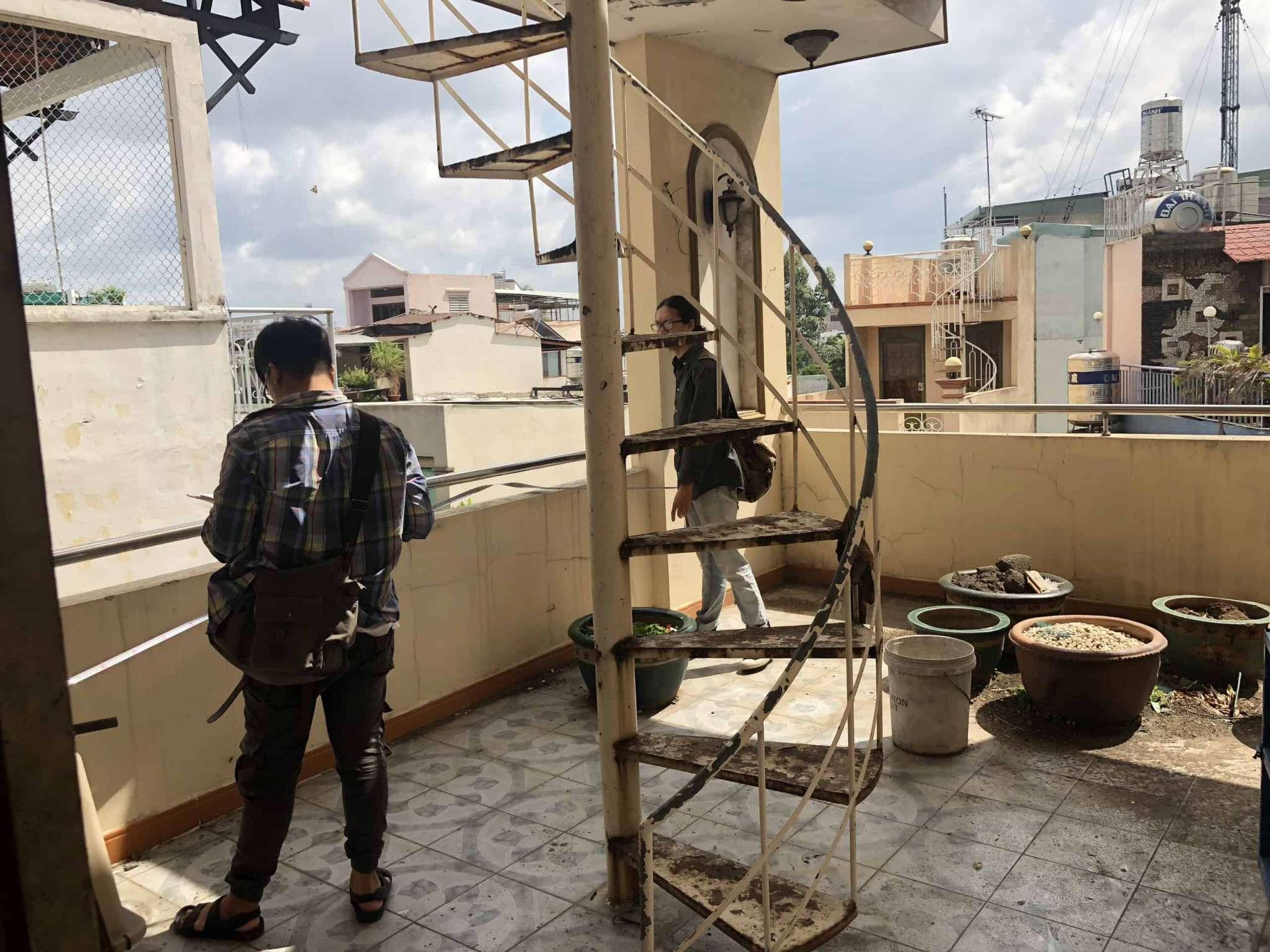 Đo vẽ hiện trạng, cải tạo căn hộ cho thuê Airbnb đường Mai Thị Lựu trước khi cải tạo 1