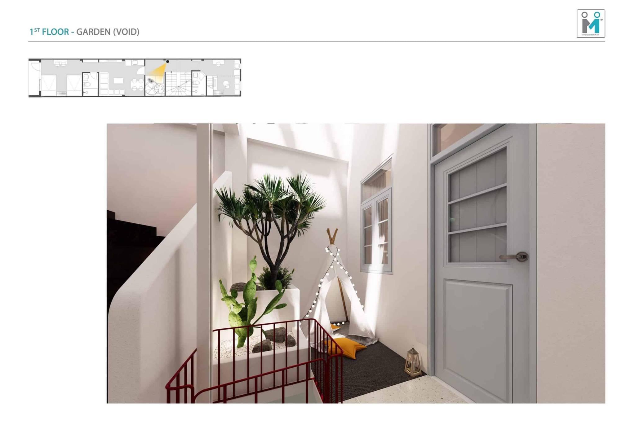 Đo vẽ hiện trạng, cải tạo căn hộ cho thuê Airbnb đường Mai Thị Lựu sau khi nâng cấp 3