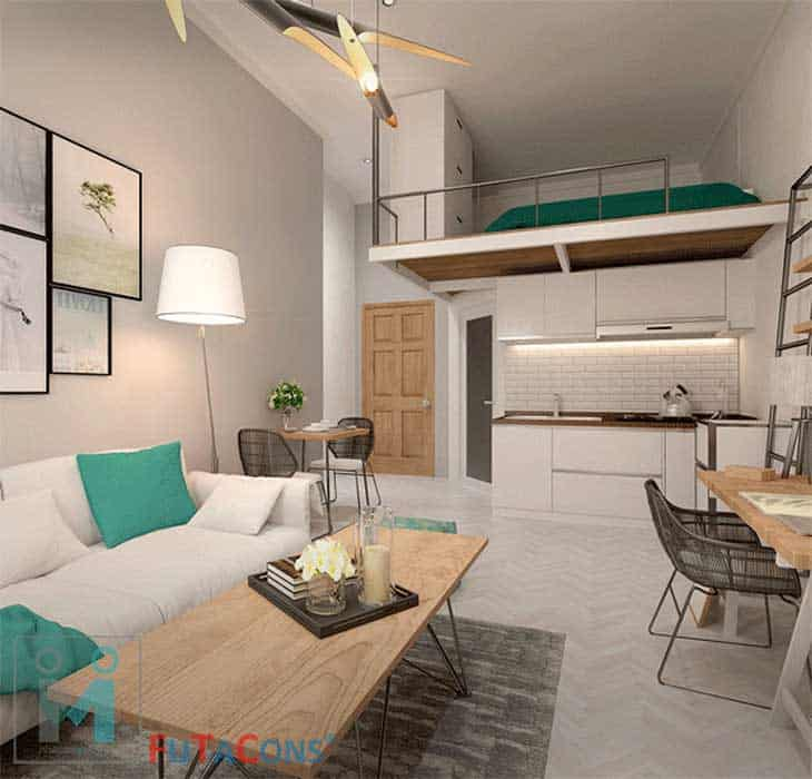 Mẫu phòng cho đẹp thu hút nhiều khách thuê