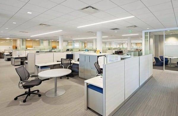 tiêu chuẩn thiết kế diện tích văn phòng cho thuê