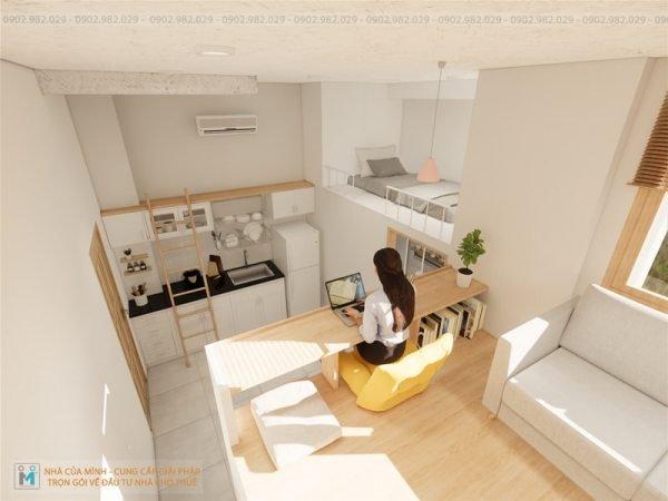 tư vấn kinh doanh xây nhà diện tích nhỏ cho thuê