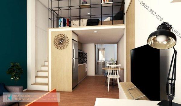 Kinh nghiệm xây dựng căn hộ mini cho thuê