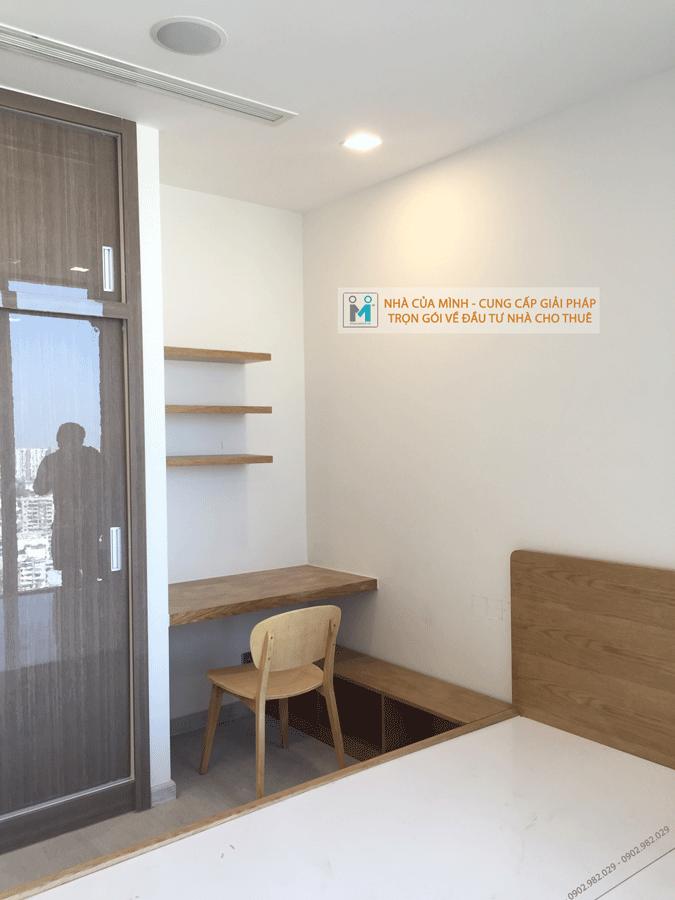 Sản xuất lắp đặt nội thất căn hộ cho thuê Vinhome Bason