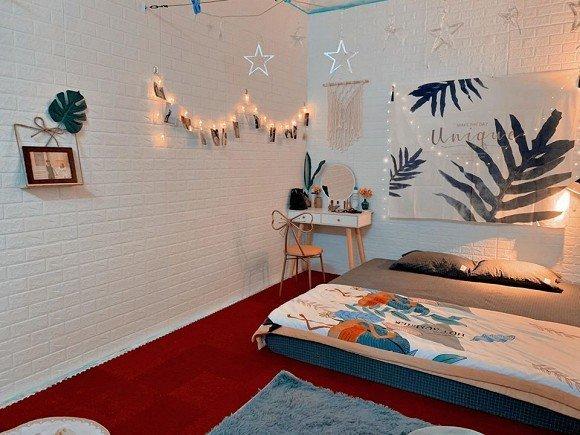 Cải tạo lại phòng trọ rộng 18m2 thành không gian sống đẹp như homestay